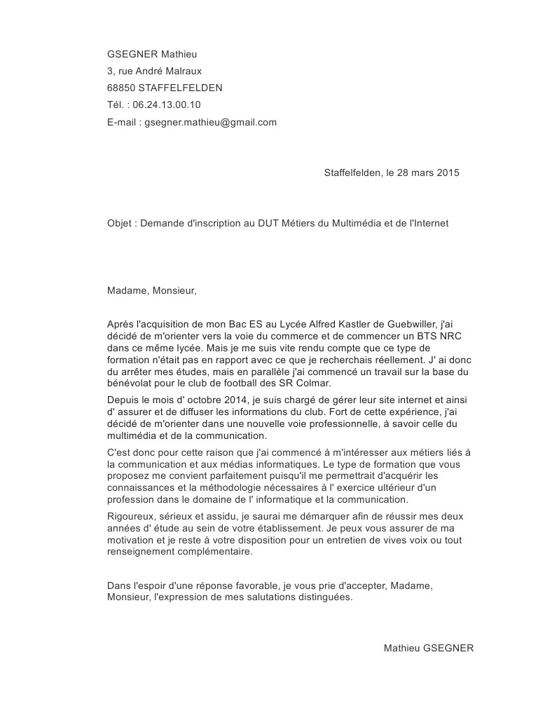 Debuter Lettre De Motivation Laboite Cv Fr
