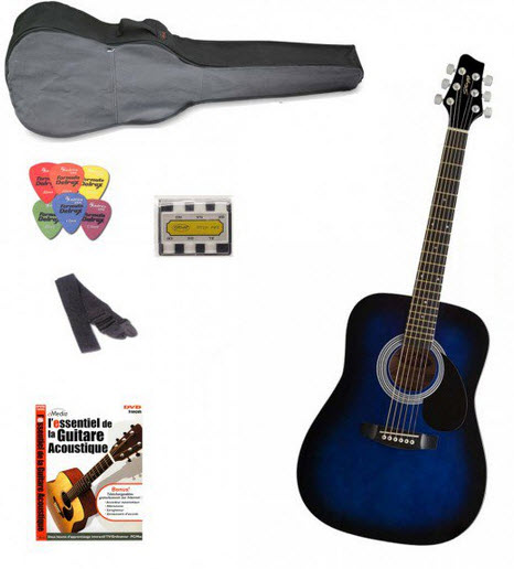 pack guitare debutant